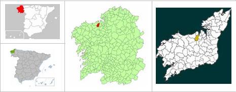 Mapa situación Culleredo