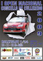Cartel divultagivo do Open de RallySlot